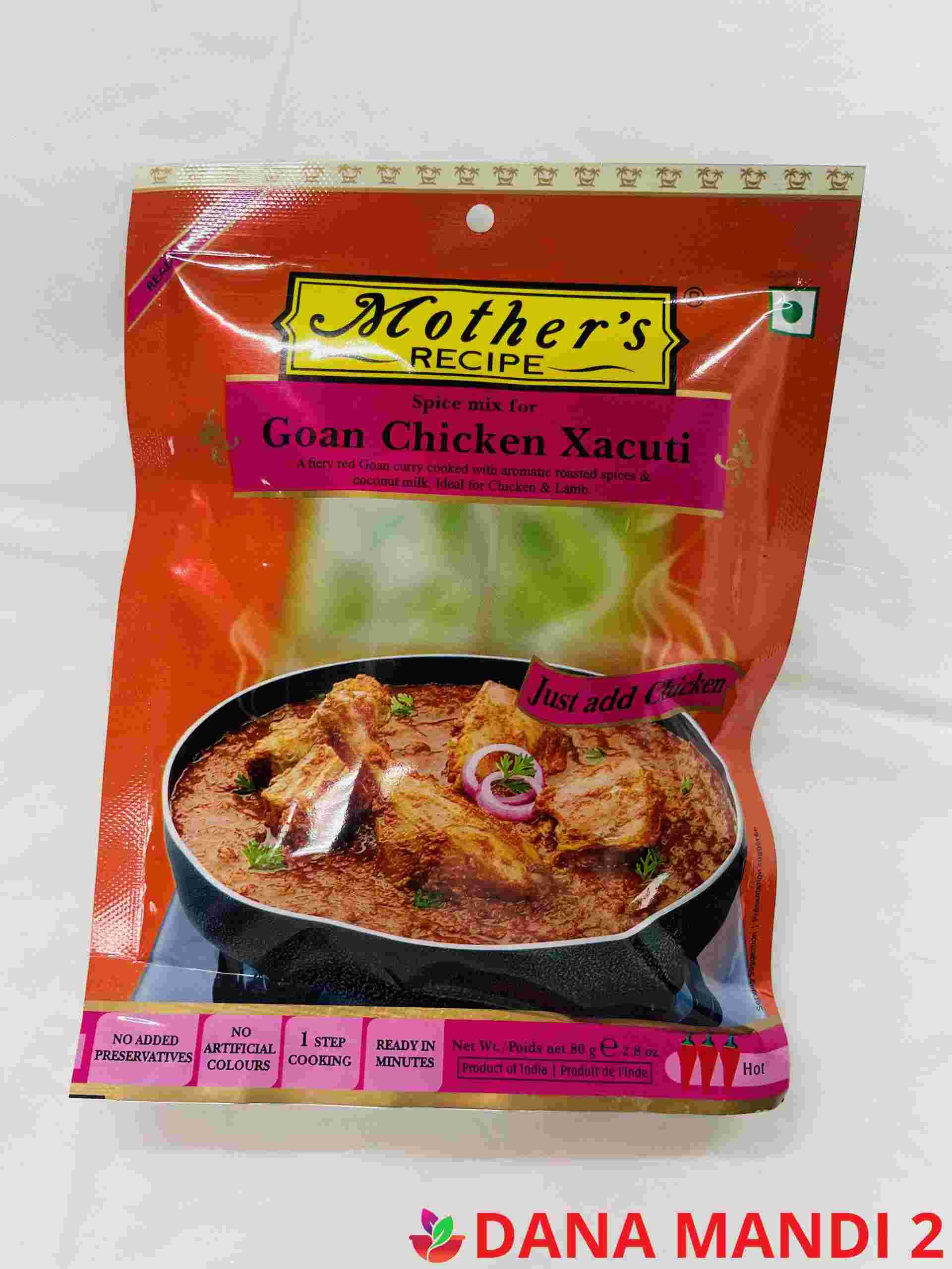 Mother's Spice Mix For Chicken Xacuti