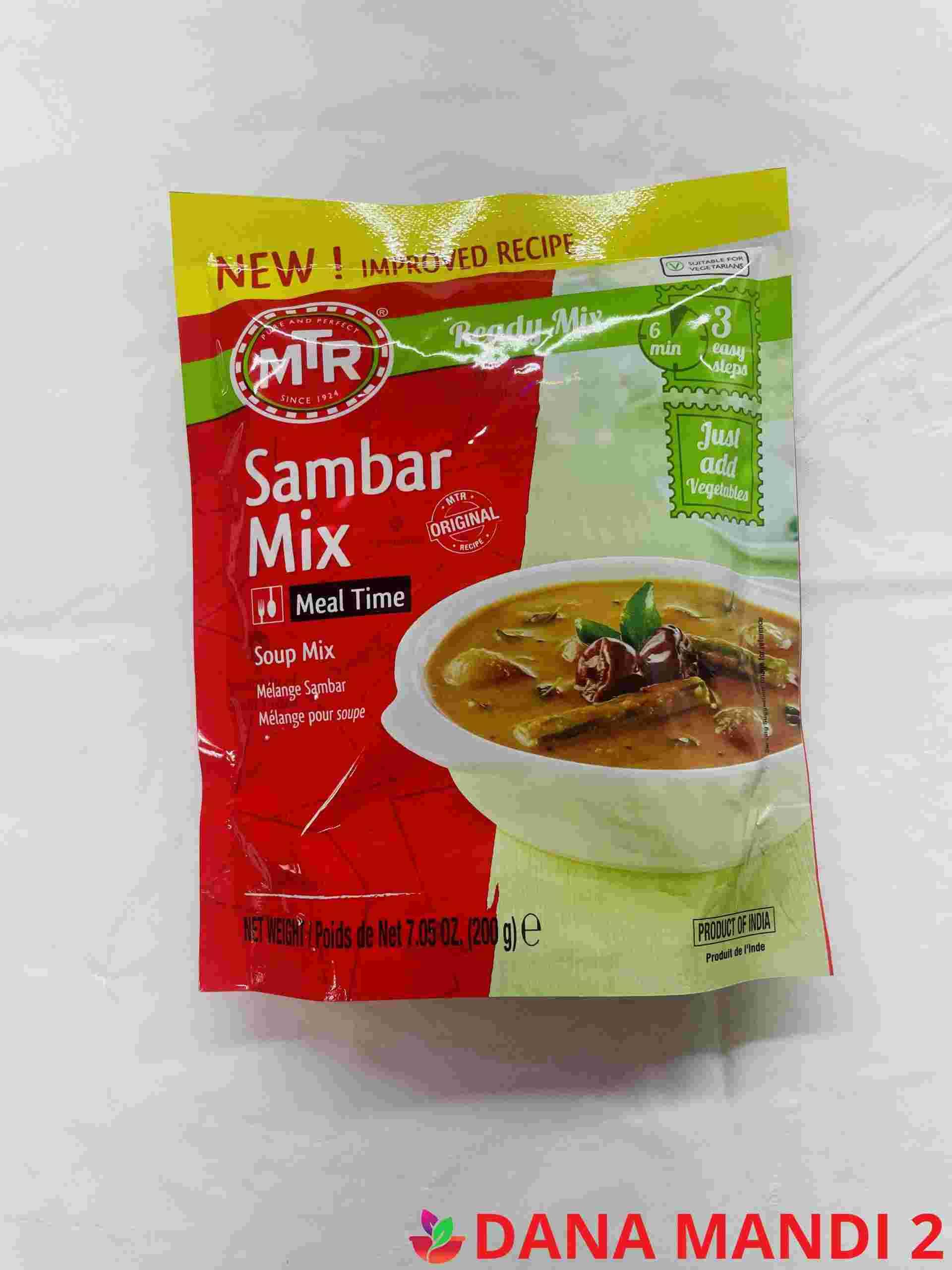 MTR Sambar Ready Mix