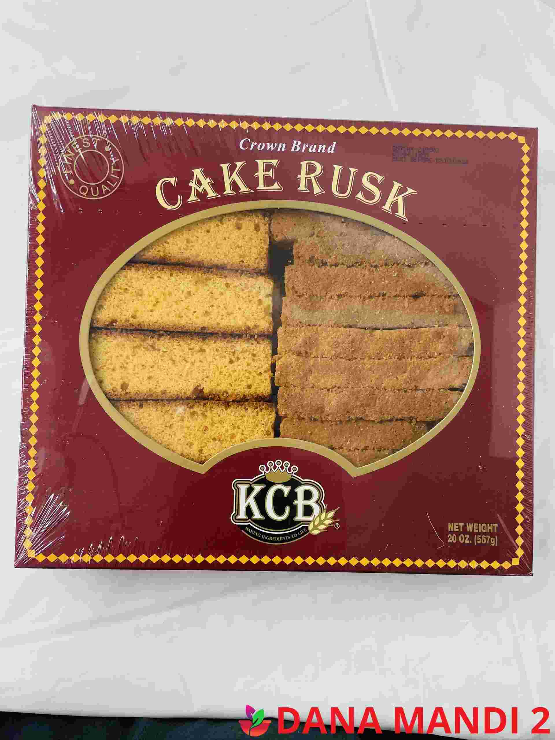 KCB Cake Rusk Crown (Red Box)