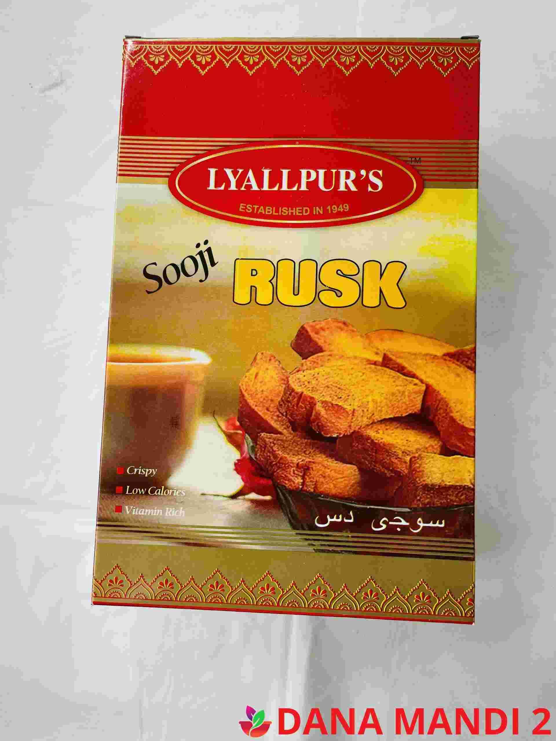 Lyallpur's  Sooji Rusk