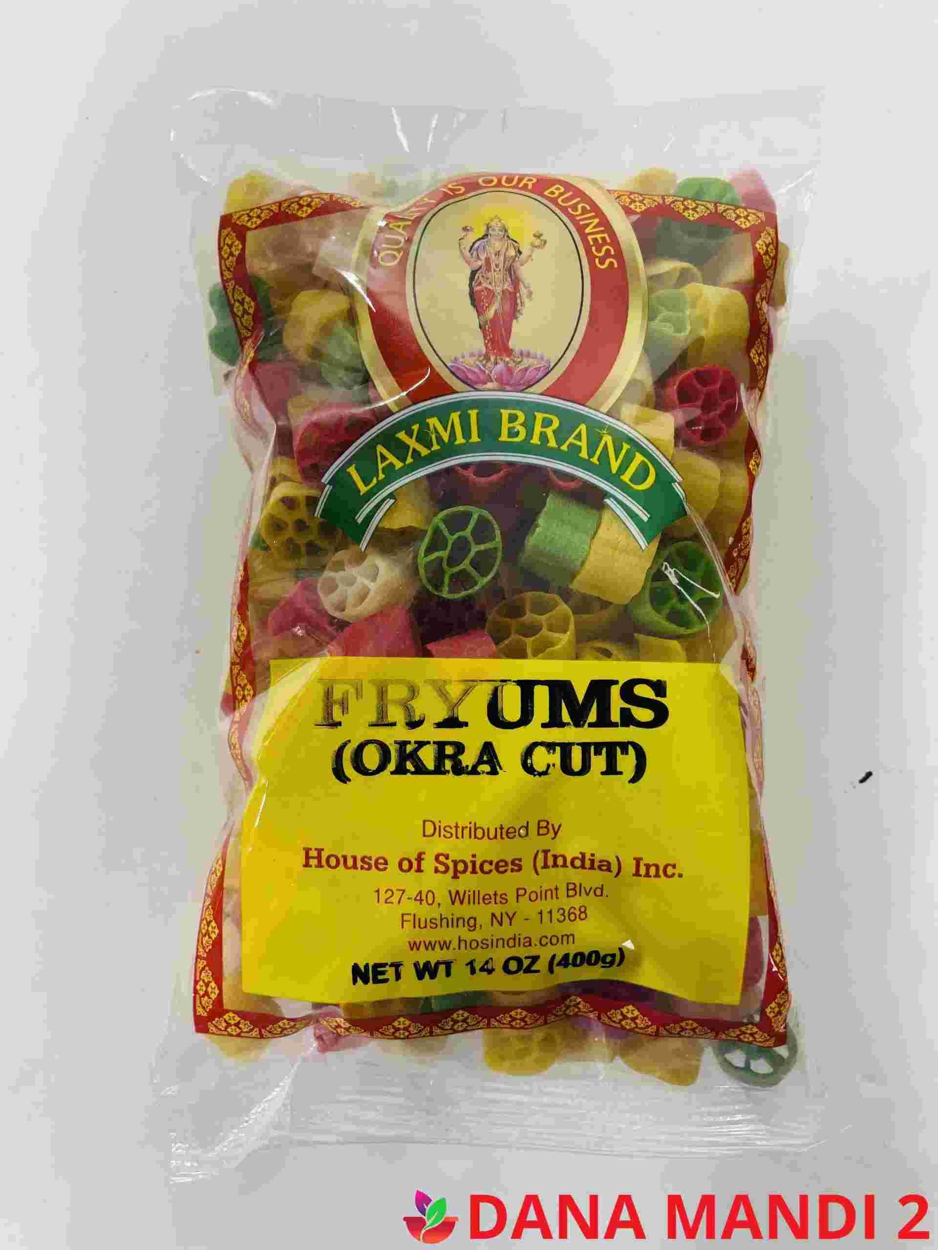 LAXMI Fryums (Okra Cuts )