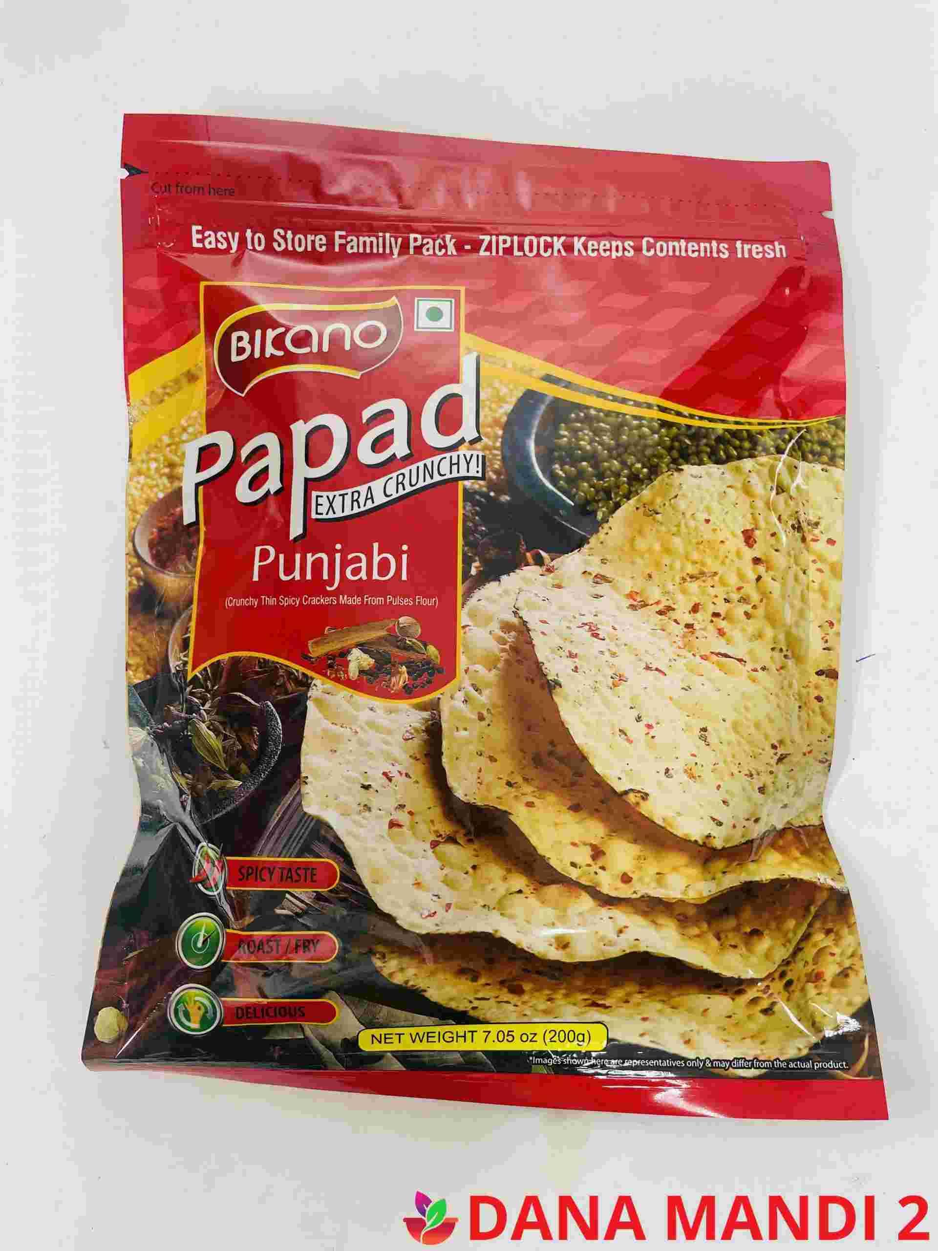BIKANO Punjabi Papad