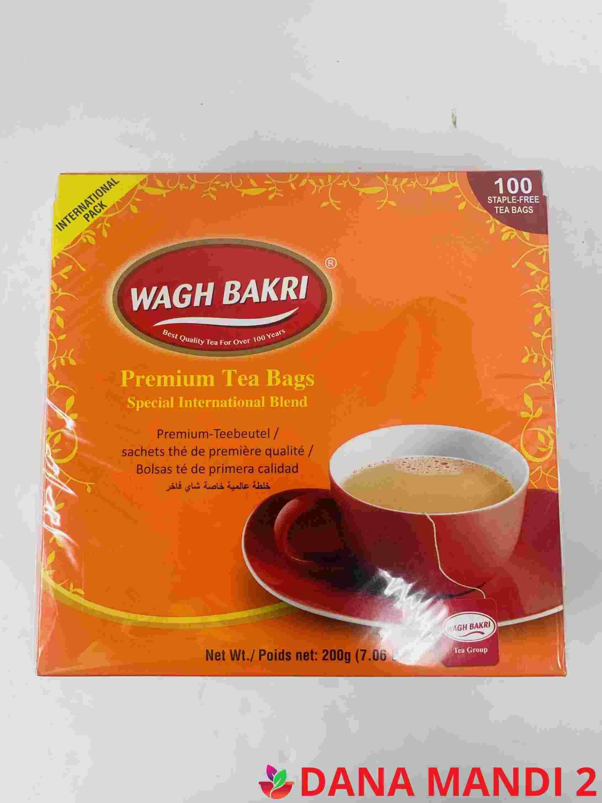WAGH BAKRI Wagh Bakri Tea Bags