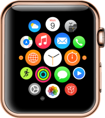 Watch Home (App Icon in Bottom Right)