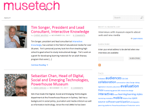 musete.ch homepage