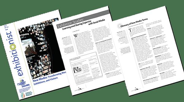 Sneak Peek! New Media issue of Exhibitionist Journal