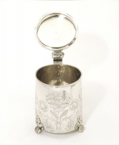 Peg tankard, 1655-1657. © Victoria and Albert Museum, London.