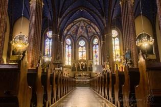 Inside Szczecin's Saint John the Baptist Church