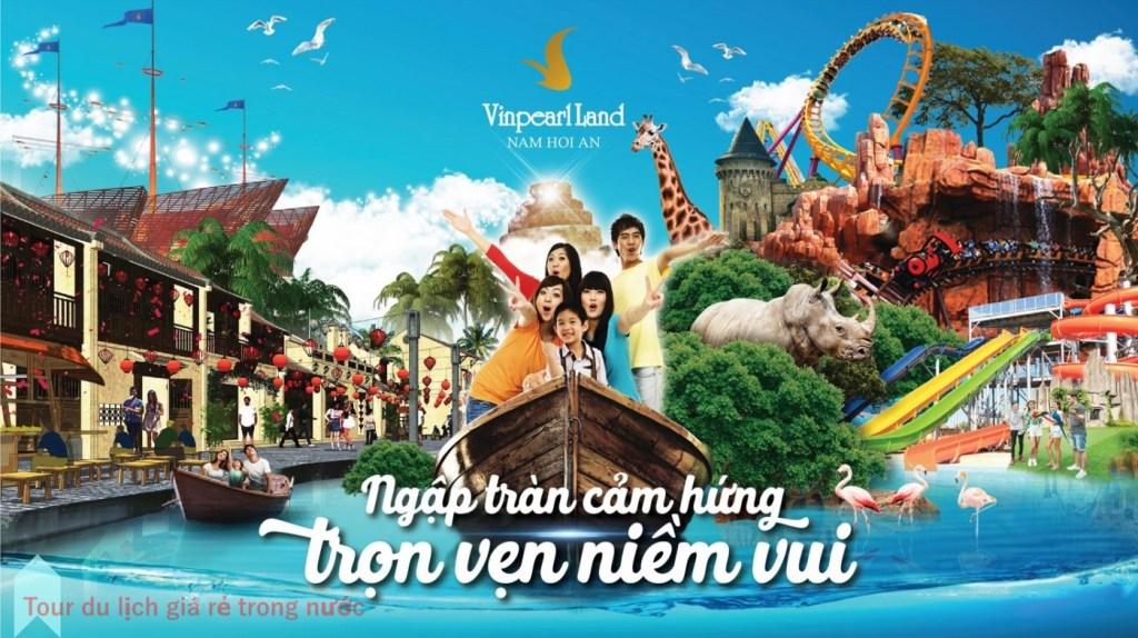 Vé Vinpearl Land Nam Hội An