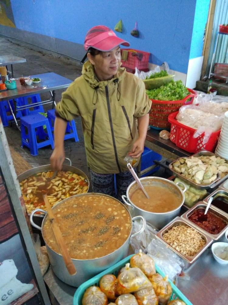vegetarian food in da nang