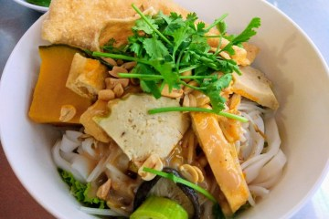 vegetarian food da nang