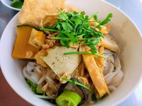 vegetarian food da nang