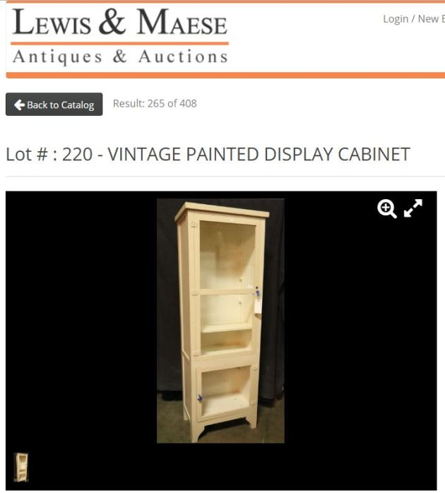 lewis & Mease cabinet, auction, auction find, furniture update, DIY bar cart, DIY bar cabinet