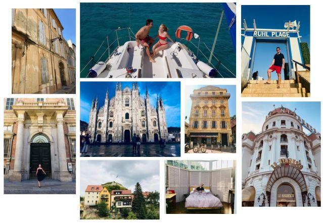 europe trip, france, italy, germany, dana morris