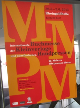 Mainzer Minipressen-Messe