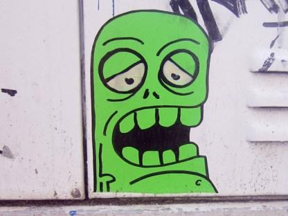 Street Art Mainz Monster 1