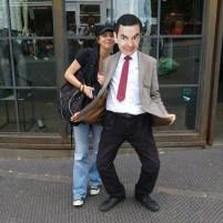 Touri mit Mr. Bean