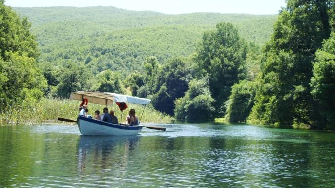 Boat ride on Lake Ohrid's springs (5)