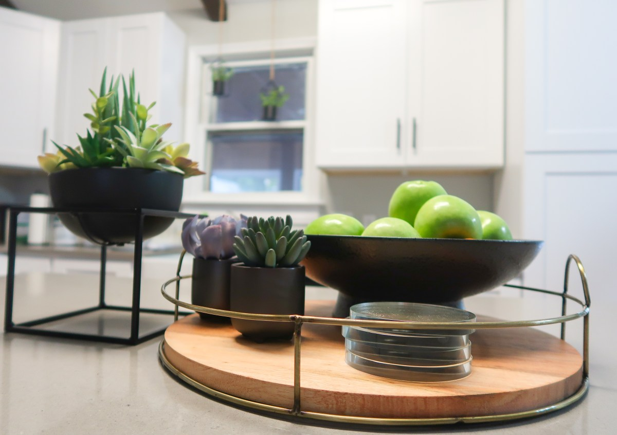 How to decorate your kitchen island for function and style - Dana