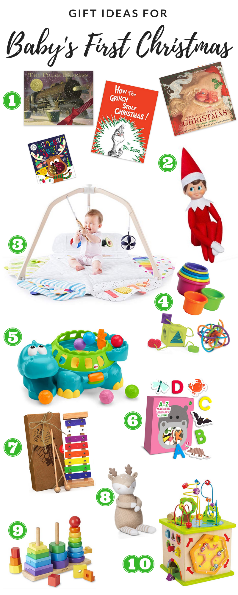 Gift Ideas For Baby's First Christmas - Dana Traynor