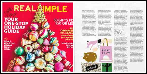 Real Simple, Dana Vento, Dana quoted, Real Simple Magazine