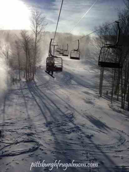skiing, ski the valley, canaan valley, timberline, west virginia, travel, family time, dana vento