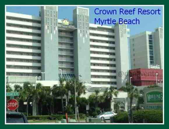 crown reef resort, myrtlebeach, my myrtle beach, resort, newly renovated,