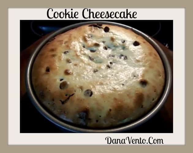 Cookie Cheesecake With A PushPan