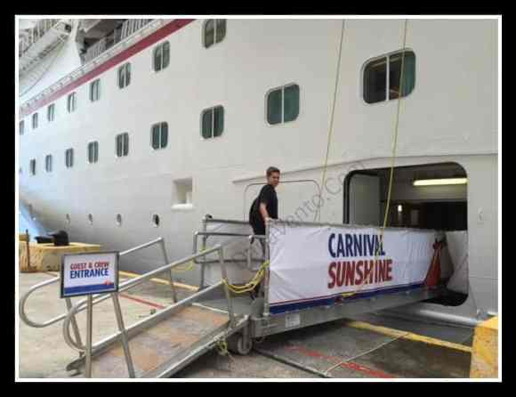 Gangway, Carnival, Excursions, Port of Call, Travel, Vacations, Cruising Carnival, Dana Vento