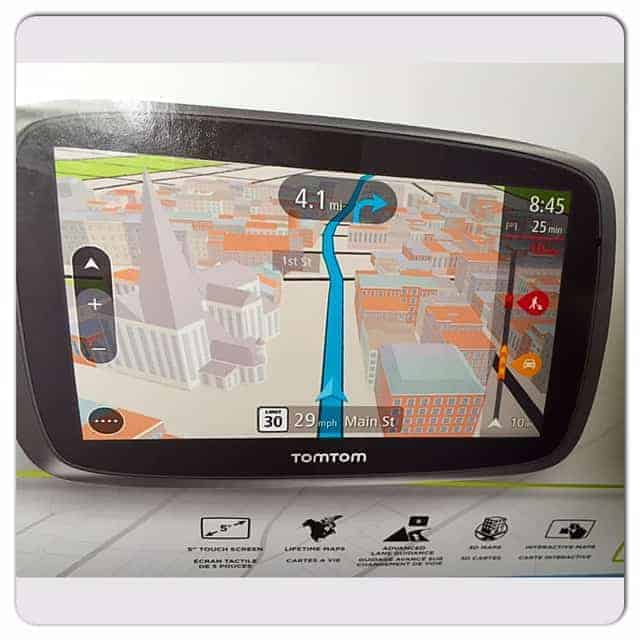 TomTom Go 500, TomTom, Navigation, driving, car, vehicle, maps, traffic, trips, vacation, travel, travel blogger, dana vento, ad