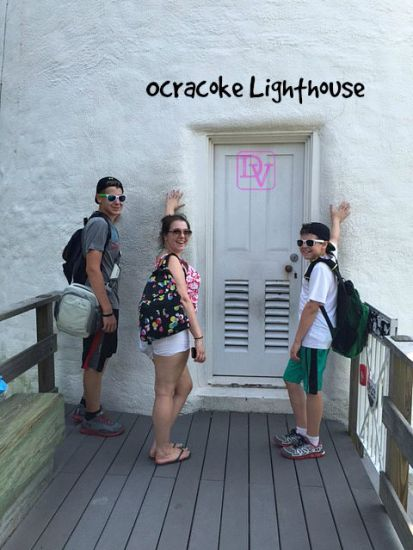 Ocracoke Island Lighthouse, visiting the Ocracoke Lighthouse, the 2nd  oldest working lighthouse in the nation, US Coast Guard Run, Ocracoke Island, tourism, traveling, travel blogger, bucket list, lighthouse, kids, family, family adventure, trips, vacations, free, lighthouse road, dana vento