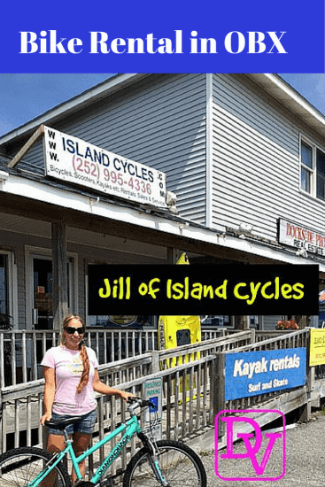 Island Cycles, OBX, Avon, Hatteras Island, Vacation, family vacation, bike rentals rent a bike, bicycles, dana vento, adventure, sport, biking, vacation, travel blogger, Jill, ad, dana vento, north carolina, outer banks, town of avon