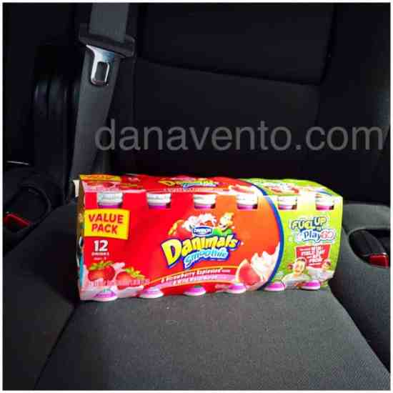 Dannon® Danimals®, Dannon, Danimals,smoothies, flavored drinkables, food blogger, fuel up, golden bongo, only the good stuff, no high fructose, no corn syrup, no artificial colors, no artificial flavors, kid-sized, snacks, on the go, portable, car, carry bags, planes, trips, sports bags, backpakcs, lunch, dana vento