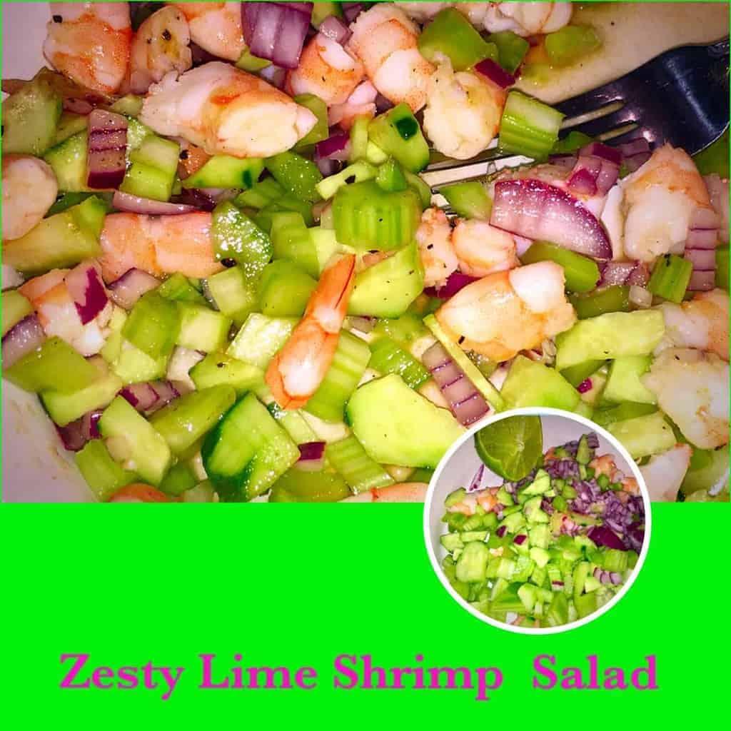 Zesty Lime Shrimp Salad