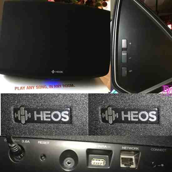 HEOS, HEOS Denon, music, play any son, in any room, wireless, multi-room, sound system, sounds, radio, music, dancing, party, nostalgia, how to rock around the christmas tree, party, party music, dish music, baking music, tech blogger, speaker, speaker with WiFi, Bluetooth, easy to use speaker, easy to use tech, sound, depth, bass, ad