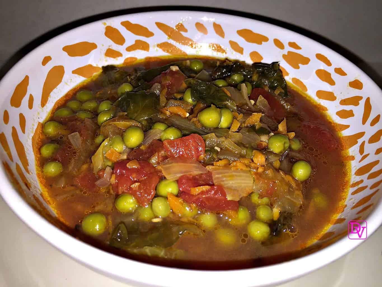 Rustic Italian Tomato Ravioli Soup