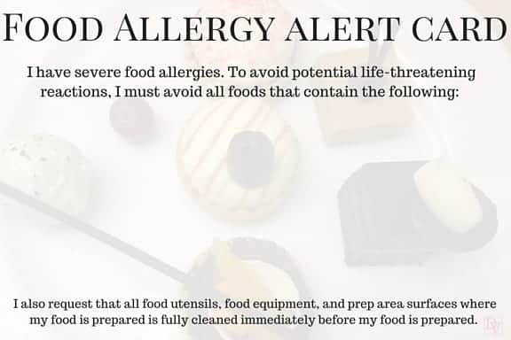 food allergies, epi pen, food allergy, dairy, soy, nut, fruits, veggies, eggs, meat, vegetarian, gluten free, latex, pepper, peppermint, swelling, shock, reactions, benadryl, anaphylaxis,skin rash, nausea, vomiting, difficulty breathing, shock, dining, dining when traveling, dining out, traveling and dining out, family travel, travel with food allergies, food ailments, allergies from food, severe, severe food, severe food allergies, severe food reactions,6 Tips For Traveling and Dining With Food Allergies