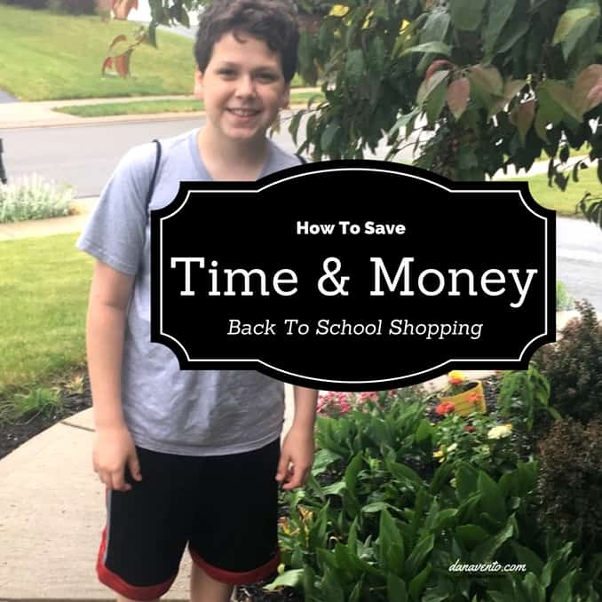 Save Time and Money On Back To School Shopping