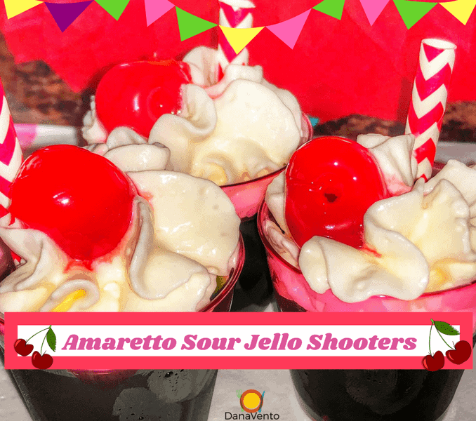 Amaretto Sour Jello Shooters, Jello, Drinks, Jiggle, Whipped Cream, Whipped Topping, Maraschino Cherries,shots, make shots, parties, celebrations, get togethers, menu, quick, easy to make, easy recipe, drink recipe, fast drink recipe, recipe with alcohol, drink mix, straws, summer drink, holiday drink, makes many, fast drinks, lime jello, diy, diy parties,Drink, Libation, Cheers, ice, no ice, on the rocks, salt rimmed, beer, margarita, wine, bar, bar life, drinks from bar, don't drink and drive, drink and call an uber, call lyft, drinks at bar, legal age, drinking at a bar, drinks available, drink assortment, libations, sweet libations, mixed libations, drinks with flavor, sour drinks, tart drinks, spicy drinks, parties, celebrations, mixed beverages, hops, hand crafted libation, hand crafted drink, artisan drinks, artisan libations, adult beverages, adult content, for adults only, around a bar, around a dining table, drink offerings, drink offers, happy hour, beverages during happy hour, libations to try, edible flowers, salted rims and flowers, nitro charged drink, no ice drinks, cool down, enjoy, relax, red wine, pink, white wine, dry wine, sparkling wine, dry red, dry white, vino, blanco,