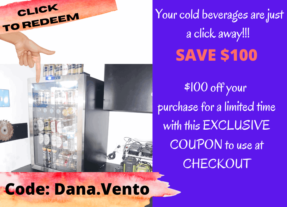 Coupon Dana.Vento for NewAir 160 Can Refrigerator $100 off