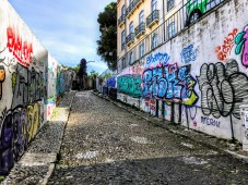 Lisbon isn't the cleanest city, in fact it can be a little gritty at times, but that's also part of its charm