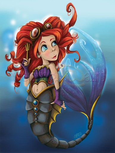 Steampunk Little Mermaid