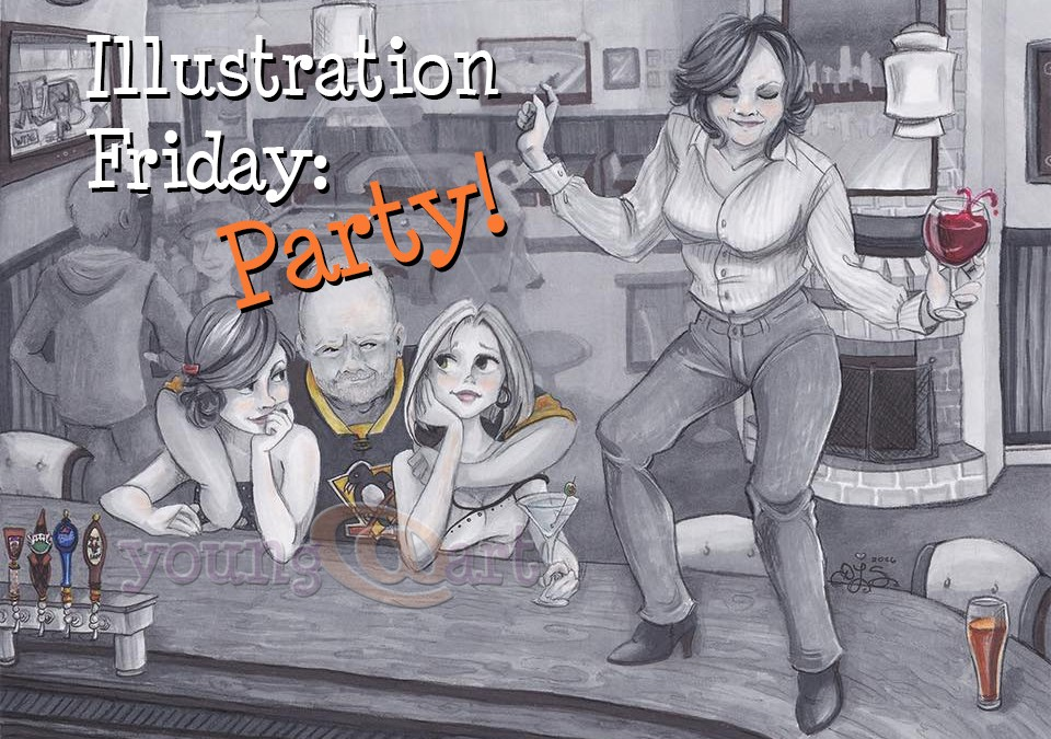 Illustration Friday: Party!