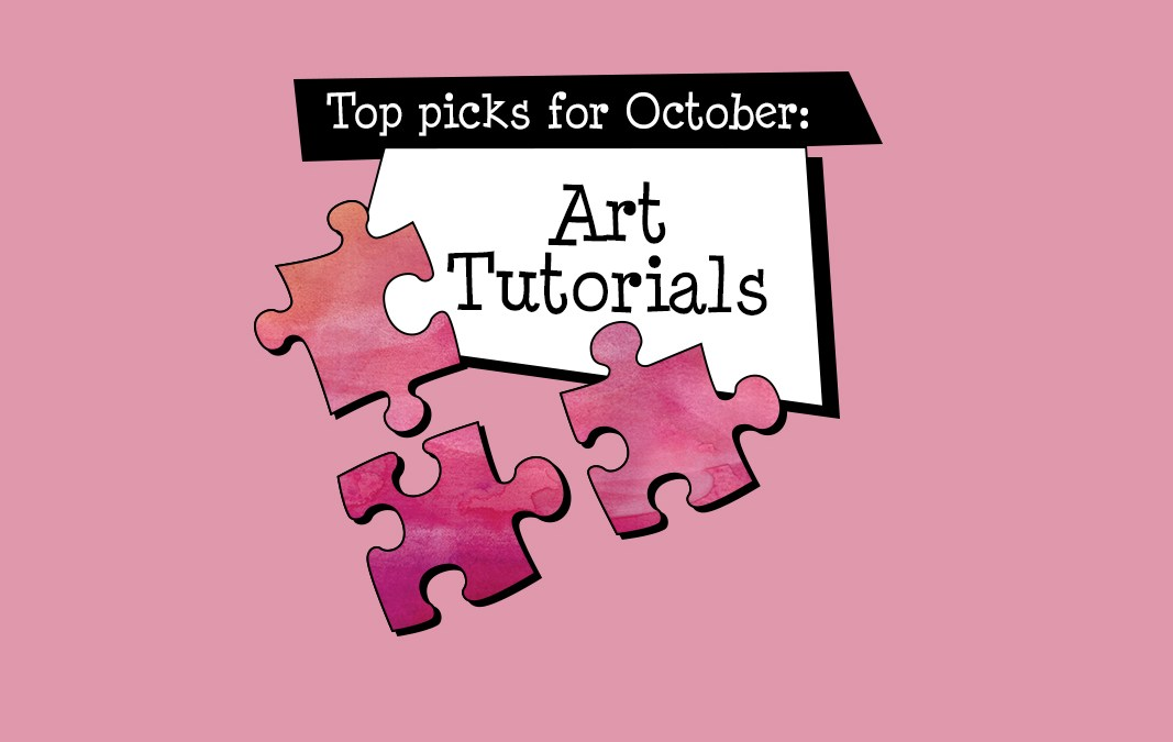 Top picks for October: art tutorials