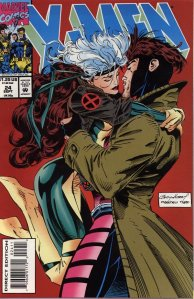 Rogue and Gambit cover X-men Marvel Comics