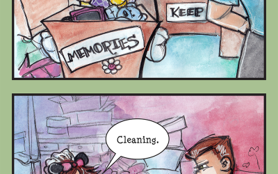 Spring Cleaning: or, how I make even bigger messes