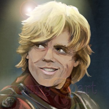 Tyrion Lannister (Game of Thrones): Character study portrait