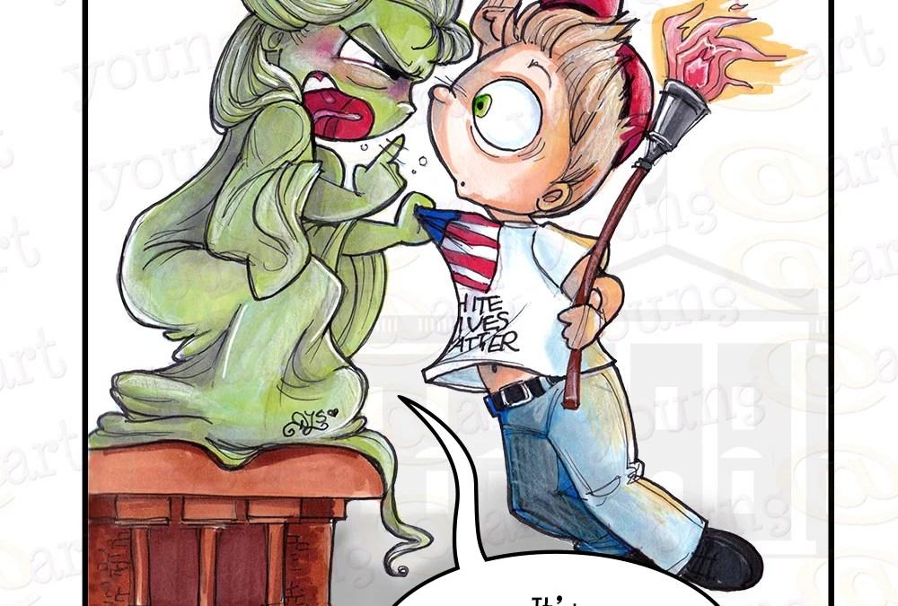 Liberty for All (a SociallyAwkward comic)