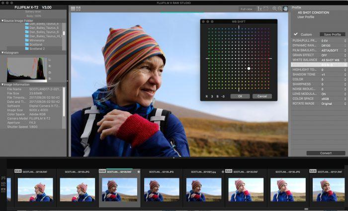 FUJIFILM Introduces Free X RAW STUDIO RAW Conversion Software | Dan Bailey's Adventure Photography Blog