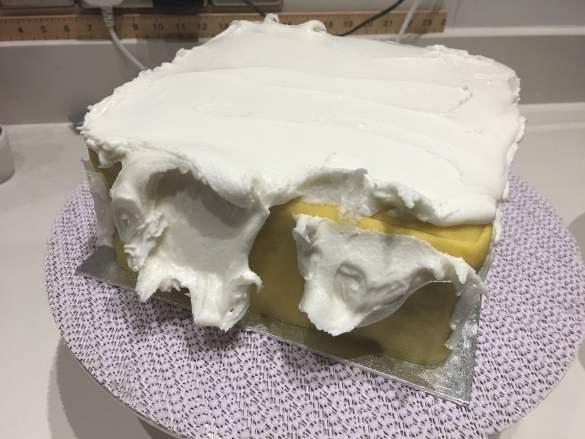 Traditional British Christmas Cake